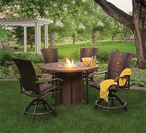 3rd Best Fire Pit Patio Set Of 2013