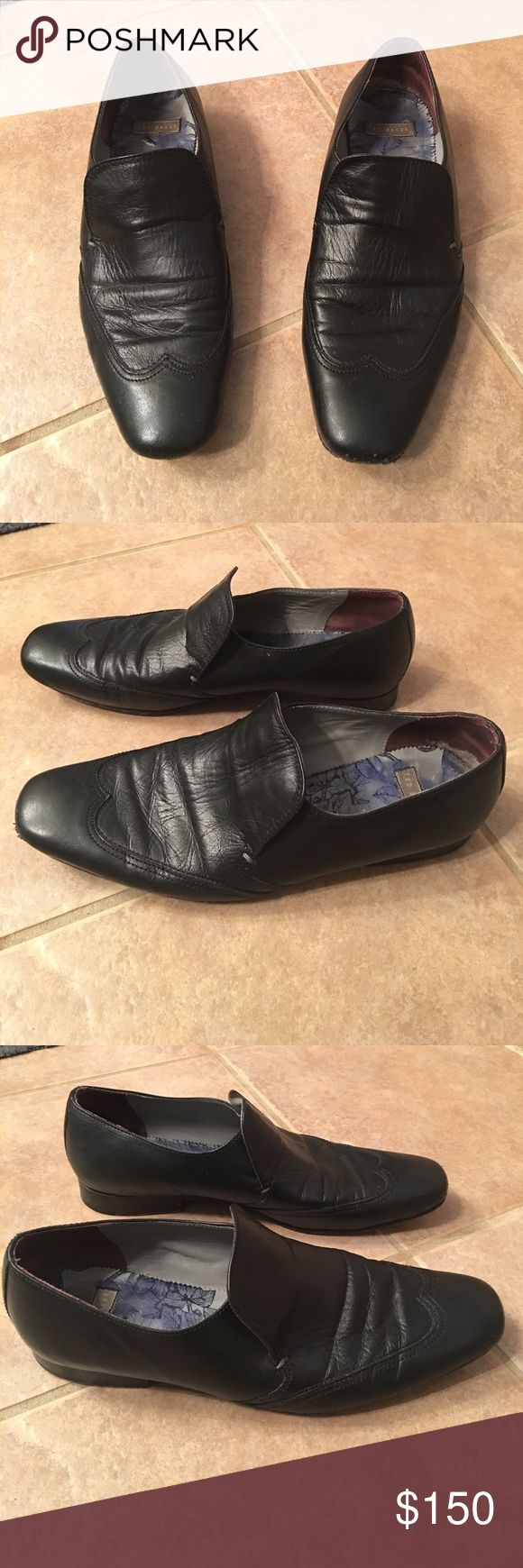 Ted Baker men's slip on loafers GUC with imperfections as pictured Ted Baker Shoes Loafers & Slip-Ons