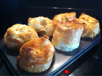 the best Yorkshire Puddings I have ever made!