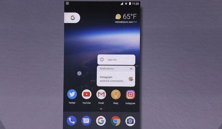notificacion #IO17 Android O Beta ya se puede descargar y te contamos sus novedades