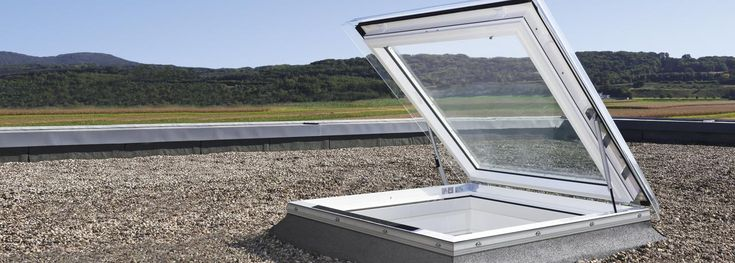 VELUX access flat roof windows - easy access to the roof