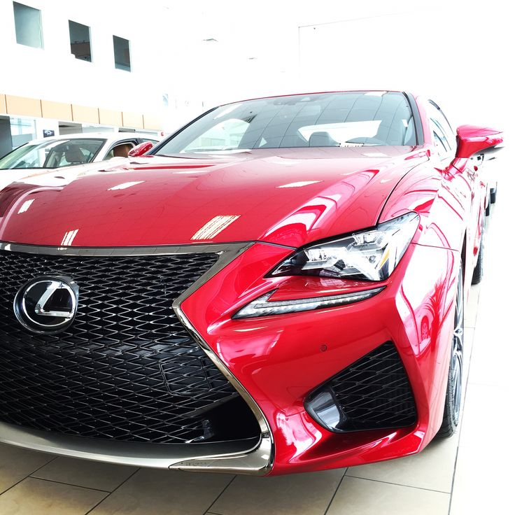 Lexus RCF Infrared 2015