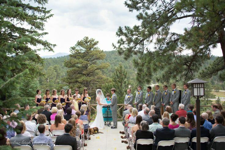 Chief Hosa Lodge Wedding Ian Allison Golden Colorado Caroline Leigh Photos Venues Lodges And
