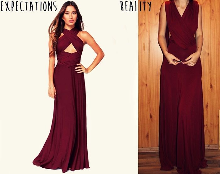 red wine maxi dress, halter dress, czerwona maxi sukienka