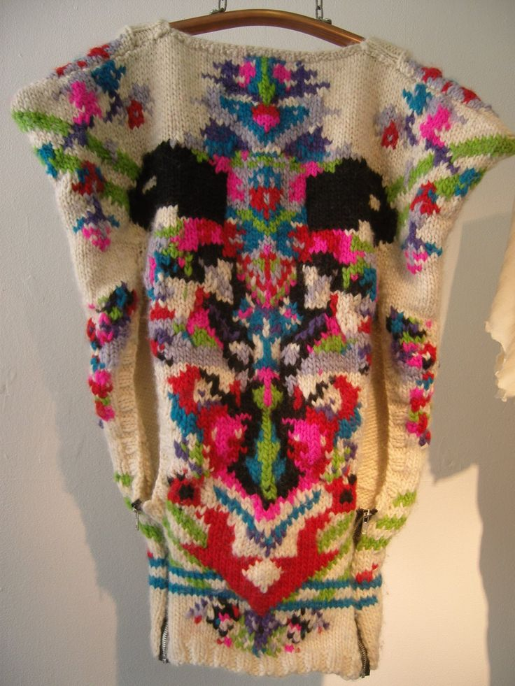 Sarah-Leigh's Style Files: Central Saint Martins Textile Design grad show