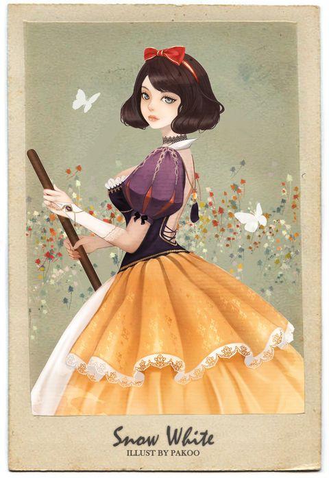 「Snow White」/「Pakoo」のイラスト [pixiv]