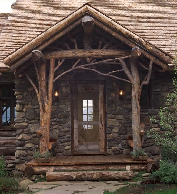 59 best images about rustic touches on pinterest double for Log home architects
