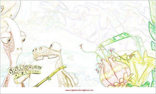 Gigantosaurus Coloring Page Disney Junior Captaincoloringbook Coloring Pages Kids Coloring Books Disney Junior