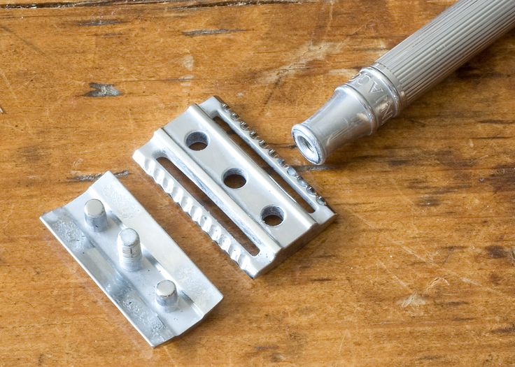 The Three Piece Safety Razor Design