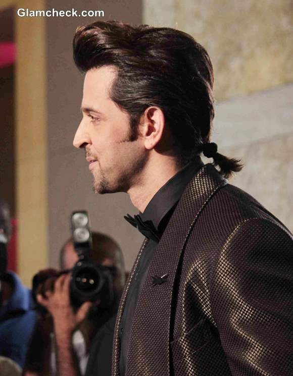 actors hair style hritik roshan s new hairstyle sports a ponytail at gq 3019