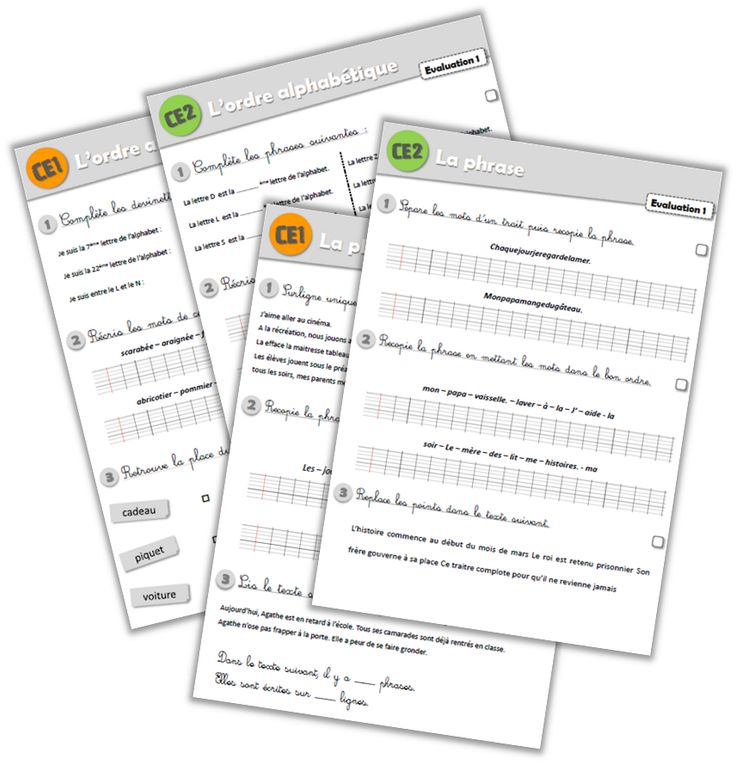 Plans de travail - petit bilan et évaluations CE1-CE2 - Journal de bord d'une instit' débutante