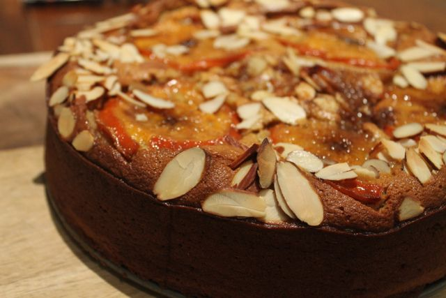 Persimmon Cake | Grain-Free | Ingredients: 4 persimmon, 3 for batter 1 ...