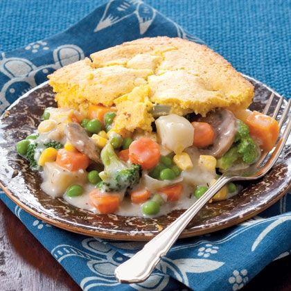 ... Vegetarian Recipe, Meatless Meals, Vegetarian Meals, Pot Pies, Veggies