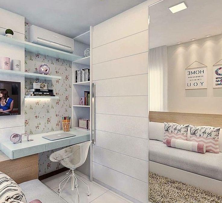 Mais um quarto FOFURA DO DIA ❤️❤️❤️ - #quarto #site #decoração #arquitetura #acasaqueeuquero #novidades #instagram