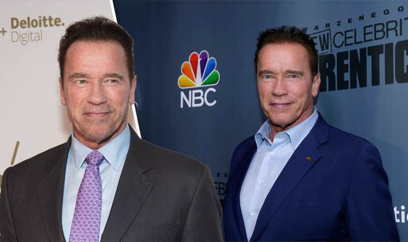 Hes back! Arnold Schwarzenegger is taking over the Apprentice from Donald Trump