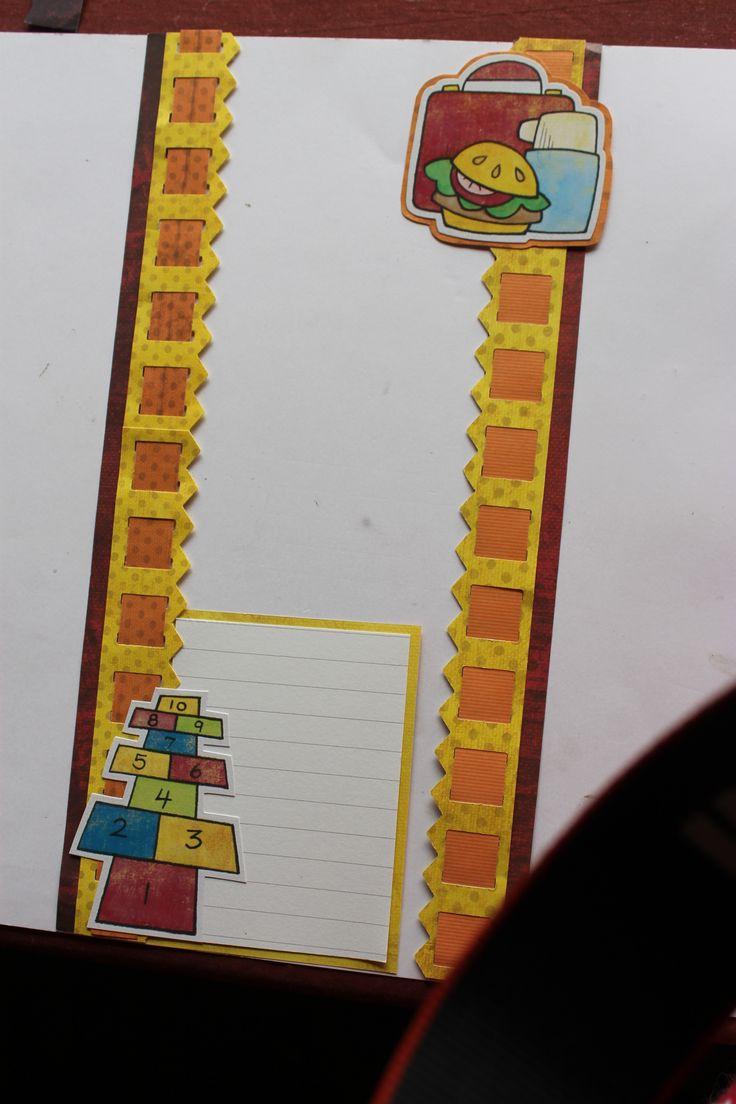Scrapbook ideas creative memories - Primary Power Palette Paper And Stickers Scrapbook Bordersscrapbook Layoutscreative Memoriesschool