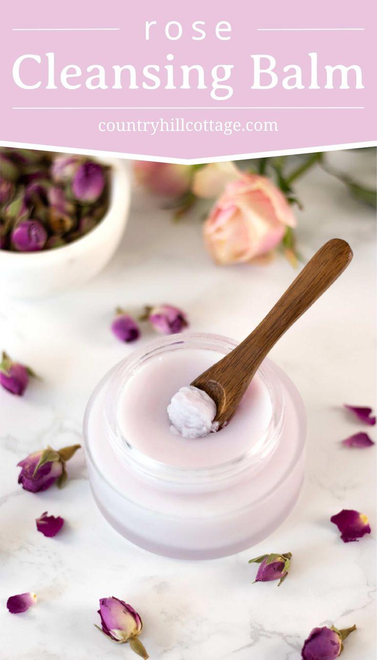 DIY Rose Cleansing Balm