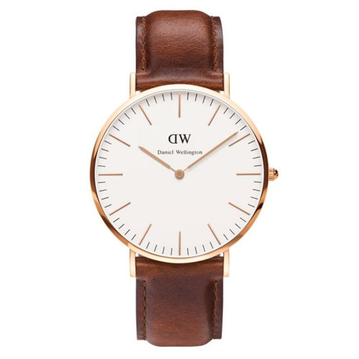 Classic 40mm St Andrews Rose Gold by Daniel Wellington