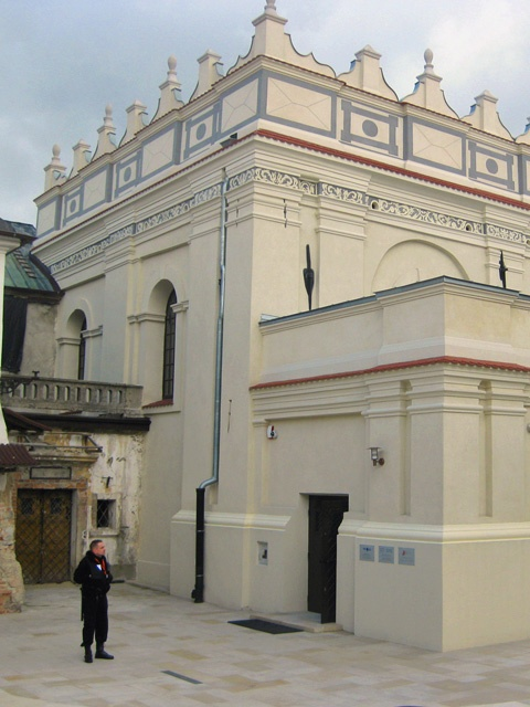 World Monuments Fund. The Renaissance Synagogue in Zamosc, Poland, ...