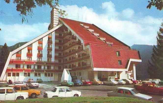Hotel Piatra Mare, Poiana Brasov, anii '80.