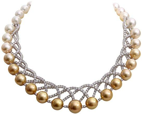Di.Go - Orecchini pendenti Calliope Minimal in oro rosa con perle Tahiti e diamanti.