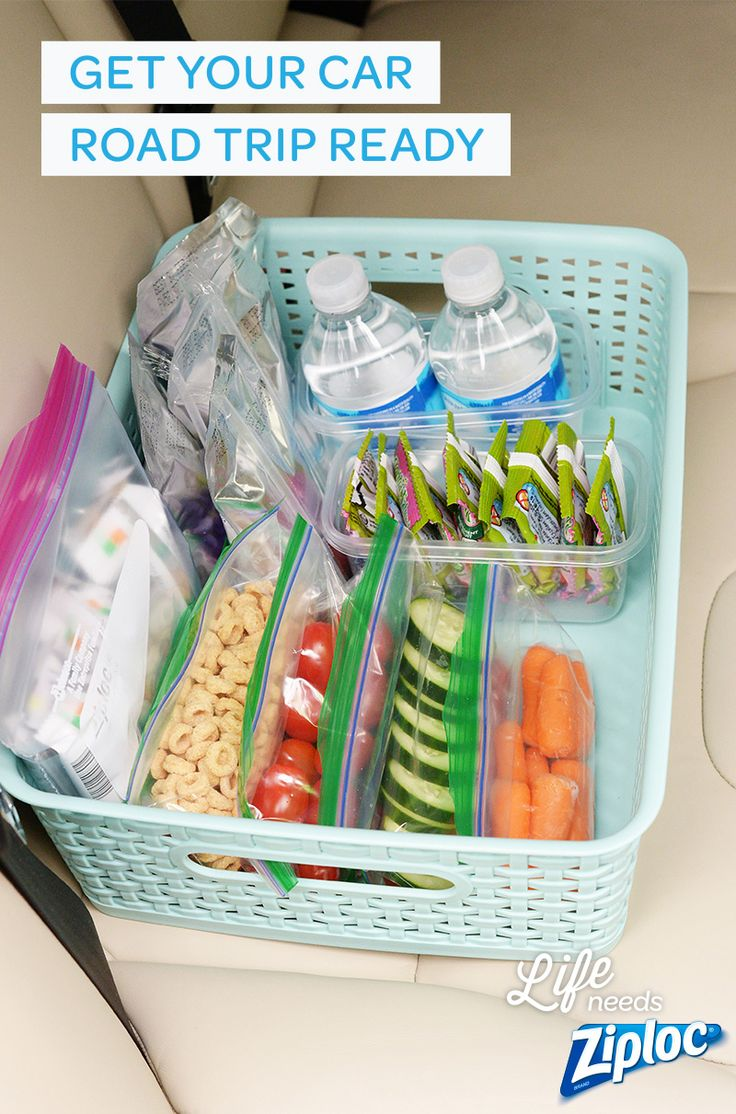 Let these tips from Ziploc® make road trips a little more bearable. Make your own car trash cans, great road trip snacks, and more