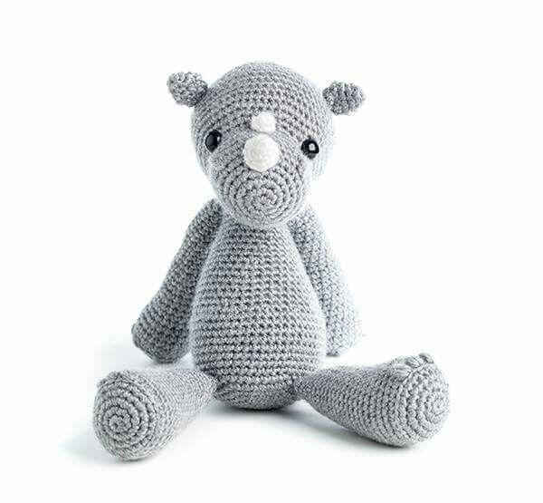 Crochet Star Wars Amigurumi Patterns : 17 Best images about rinoceronte amigurumi on Pinterest ...
