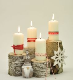 we call this advent decoration 'jingeling'...
