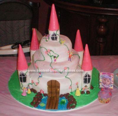 Coolest Princess Castle Cake Birthday Cakes Homemade