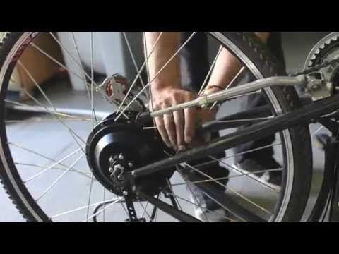 BICICLETA ELECTRICA CASERA   Montar un Kit de Motor Electrico en tu Bici - YouTube