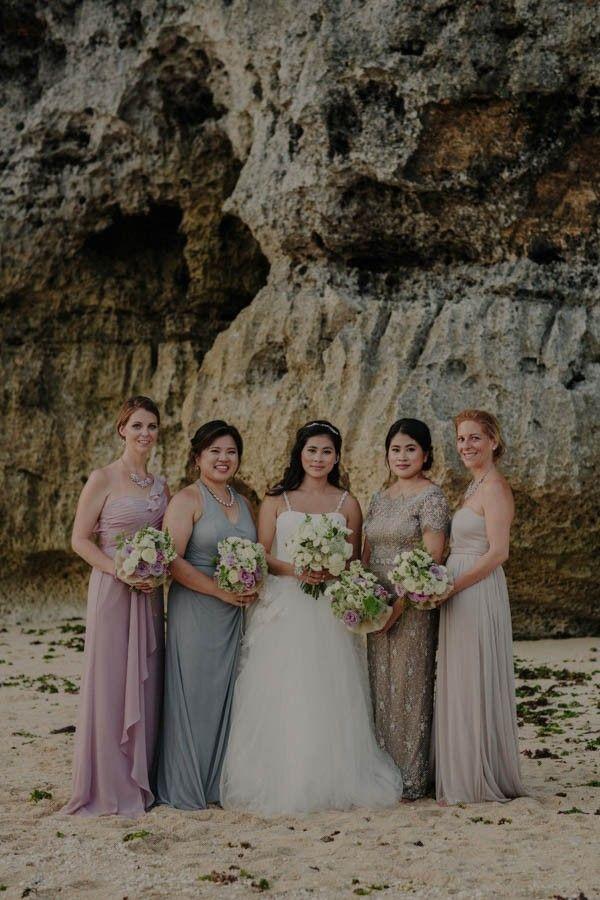 Elegant jewel toned bridesmaid style   Image by Robert J Hill