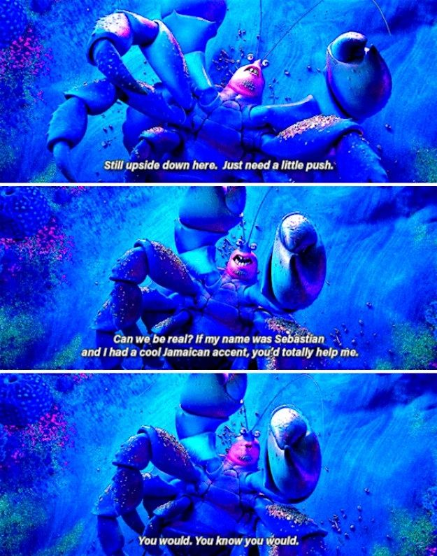 """Watching the credits just to see this Tamatoa moment: 