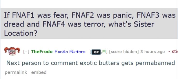 ...exotic butters...