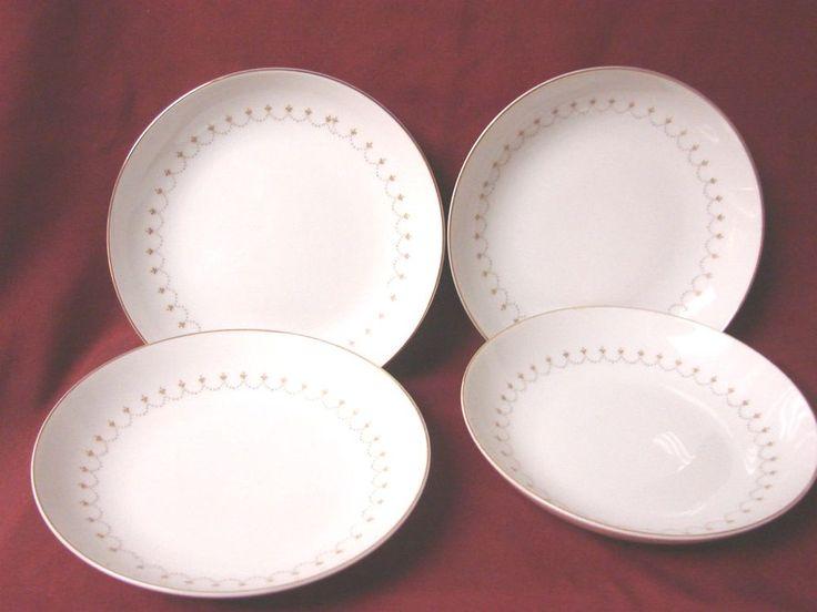 mikasa china dinnerware royalty pattern set 4 soup bowls