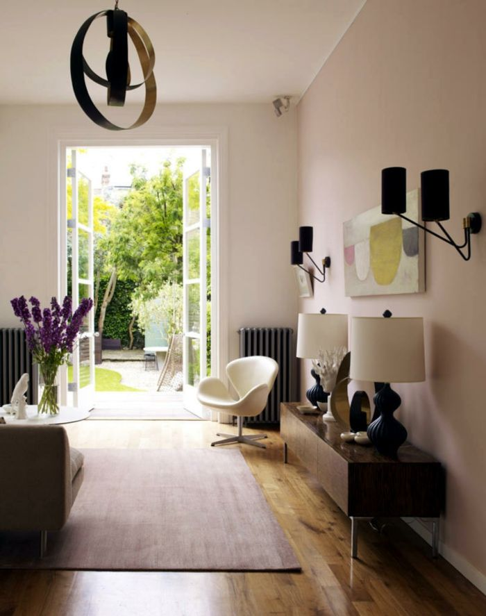 Die besten 25+ Hellrosa wände Ideen auf Pinterest Hellrosa - wohnzimmer grau rot