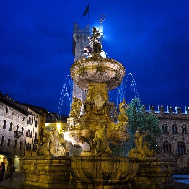 Piazza del duomo, Trento - Italia