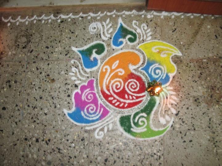 Entry by Jagruti Jadhav(2) #Diwali #Rangoli