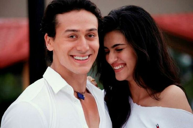 Heropanti-Movie Wallpaper Checkout More Tiger shroff_and Kriti Sanon Heropanti-Movie HD Wallpapers Images Photos