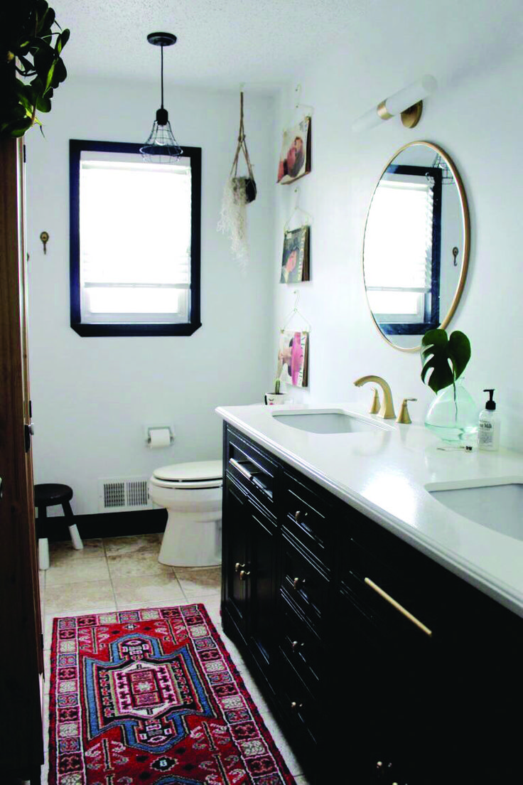 Real Home Inspiration bathroom rugs light blue that look