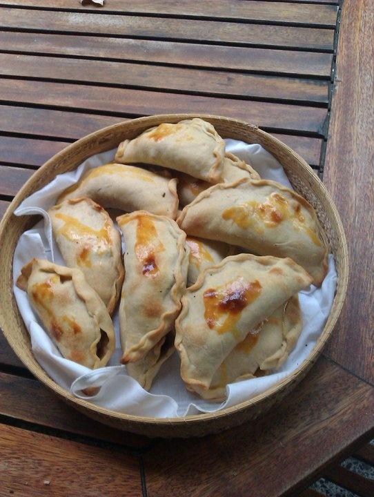 Empanadas de pino (al horno)