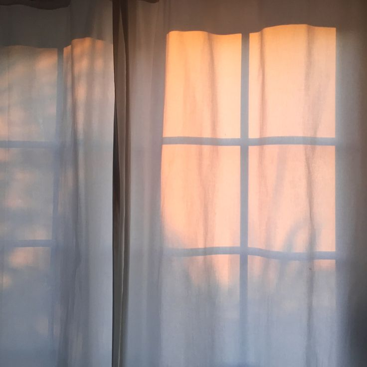 The sun sneaking through the curtains whilst you're still under the duvet