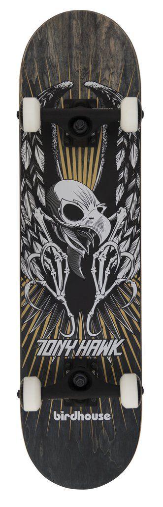 "Birdhouse Premium Quality Complete Skateboard Tony Hawk Wings 7.75"""