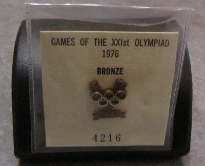 Nancy Garapick's bronze medal pin, Montréal 1976. Nova Scotia Sport Hall of Fame collection, Halifax