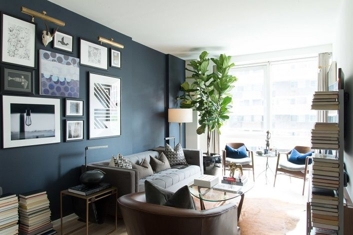 Mix and Chic: A cool and stylish bachelor pad in Gramercy Park!