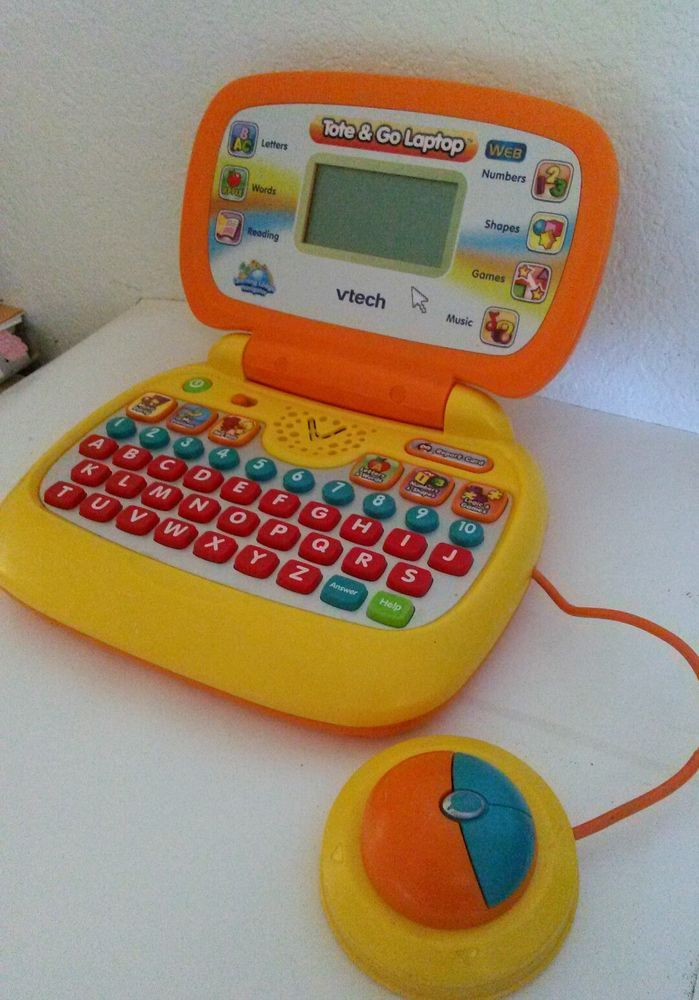 Vtech Tote 'n Go Laptop - No. 80-067800 Kids toy. Learning ...