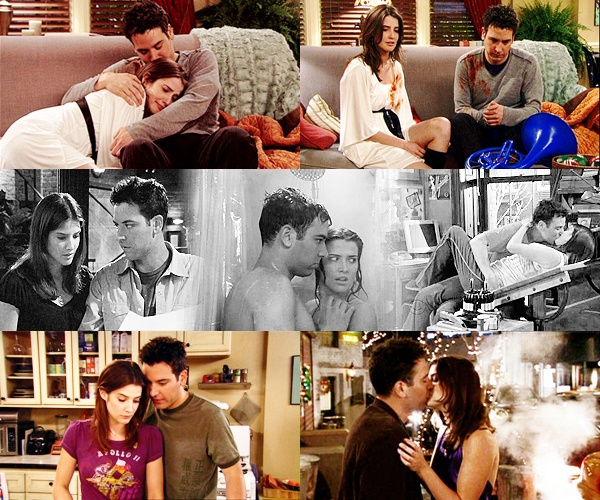 Robin: You stole a blue french horn for me.  Ted: I would have stolen you a whole orchestra. They're meant to be and I don't care what anyone else thinks. <3 Ted and Robin for life.