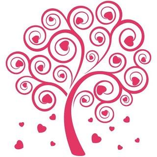 Laminas de corazones de san valentín para imprimir :lodijoella