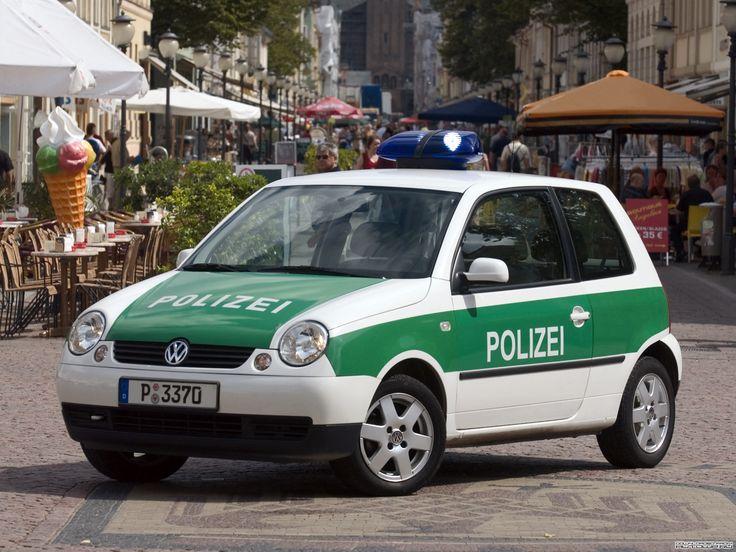 VW Lupo 1.4 16V Polizei Potsdam (2002)