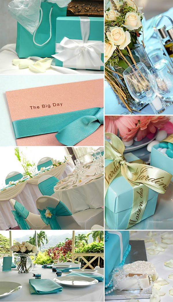 Tiffany Blue And Light Pink Wedding Theme Mail Me Hello Amybirdtweets