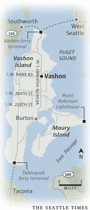 Going local on Vashon Island   Travel   The Seattle Times